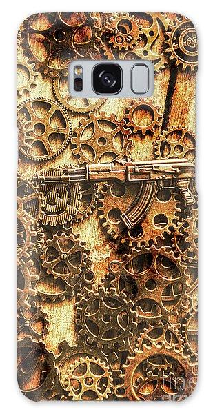 Guns Galaxy Case - Vintage Ak-47 Artwork by Jorgo Photography - Wall Art Gallery