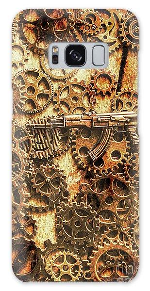 Assault Galaxy Case - Vintage Ak-47 Artwork by Jorgo Photography - Wall Art Gallery