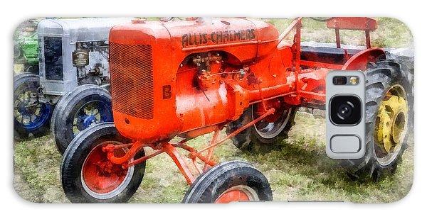 John Deere Galaxy Case - Vintage Allis-chalmers Tractor Watercolor by Edward Fielding