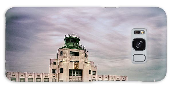 Vintage Architectural Photograph Of The 1940 Air Terminual Museum - Hobby Airport Houston Texas Galaxy Case