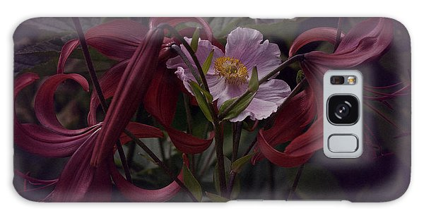 Vintage Asiatic Lilies  Galaxy Case by Richard Cummings