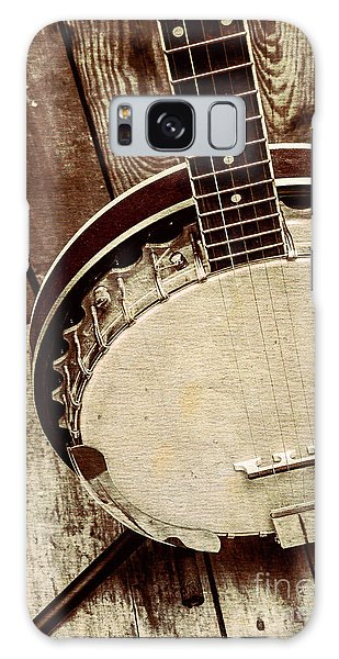 Vintage Banjo Barn Dance Galaxy Case by Jorgo Photography - Wall Art Gallery