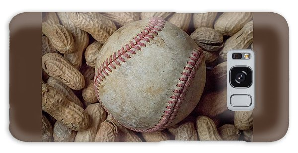 Vintage Baseball And Peanuts Square Galaxy Case