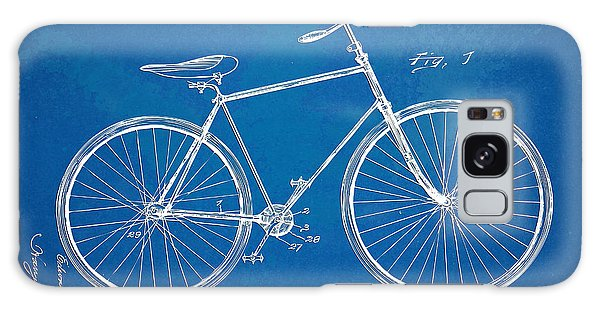 Vintage Bicycle Patent Artwork 1894 Galaxy Case