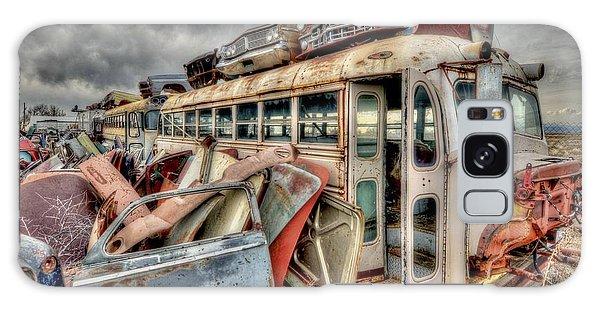 Vintage Bus Galaxy Case