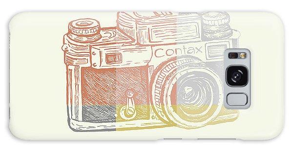 Camera Galaxy Case - Vintage Camera 2 by Brandi Fitzgerald