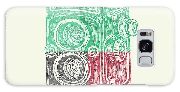 Camera Galaxy Case - Vintage Camera Color by Brandi Fitzgerald