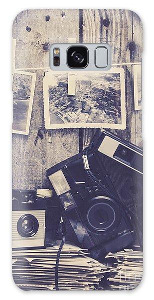 Vintage Camera Galaxy Case - Vintage Camera Gallery by Jorgo Photography - Wall Art Gallery