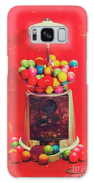 Vintage Candy Store Gum Ball Machine Galaxy Case