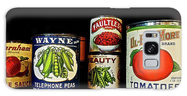 Vintage Canned Vegetables Galaxy Case
