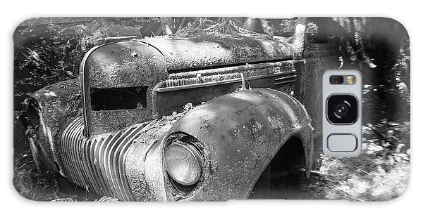 Vintage Car Galaxy Case