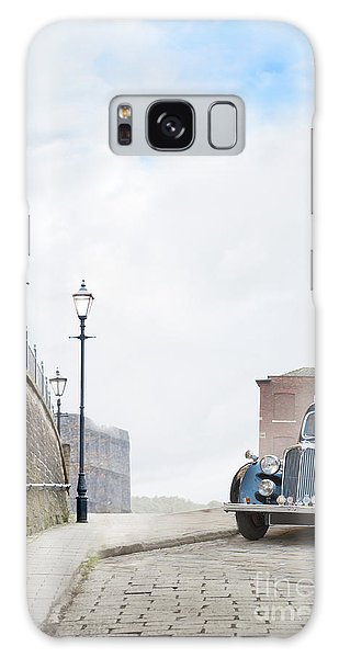 Vintage Car Parked On The Street Galaxy Case by Lee Avison