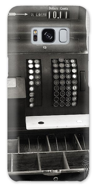 Vintage Cash Register Galaxy Case