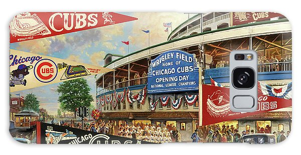 Vintage Chicago Cubs Galaxy Case by Steven Parker