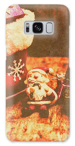 Santa Claus Galaxy Case - Vintage Christmas Art by Jorgo Photography - Wall Art Gallery
