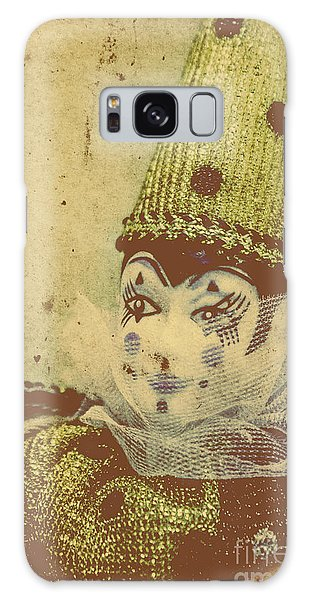 Faded Galaxy Case - Vintage Circus Postcard by Jorgo Photography - Wall Art Gallery