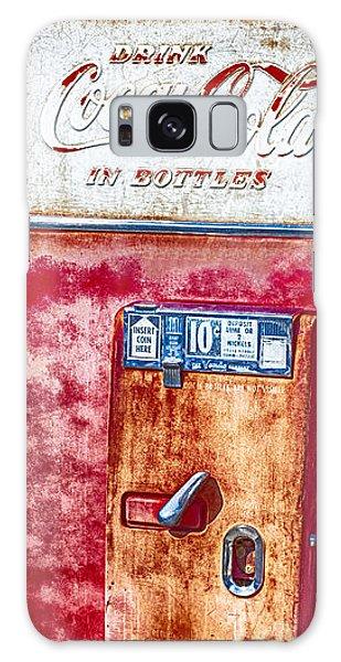Vintage Coca-cola Machine 10 Cents Galaxy Case