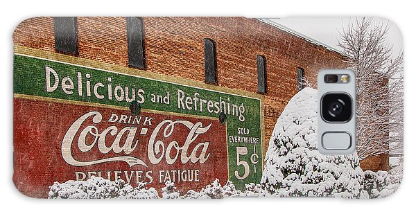 Vintage Coca Cola Sign New Albany Mississippi Galaxy Case