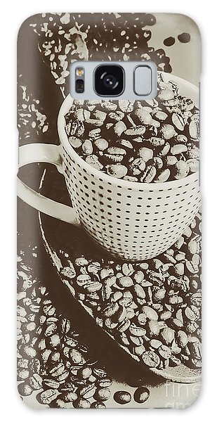 Cafe Galaxy Case - Vintage Coffee Art. Stimulant by Jorgo Photography - Wall Art Gallery