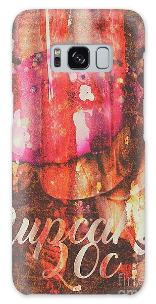 Faded Galaxy Case - Vintage Cupcake Tin Sign by Jorgo Photography - Wall Art Gallery