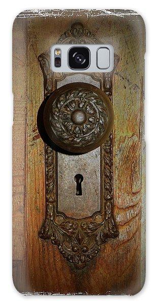 Vintage Door Knob Galaxy Case by Scott Kingery