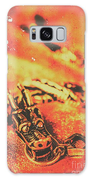 Dragon Galaxy S8 Case - Vintage Dragon Charm by Jorgo Photography - Wall Art Gallery