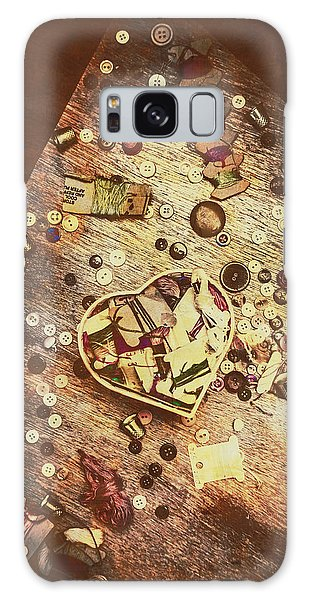 No-one Galaxy Case - Vintage Dressmakers Table by Jorgo Photography - Wall Art Gallery