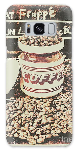 Cafe Galaxy Case - Vintage Drinks Decor  by Jorgo Photography - Wall Art Gallery
