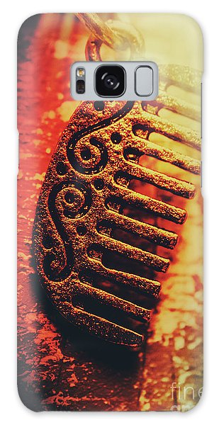 Decorative Galaxy Case - Vintage Egyptian Gold Comb by Jorgo Photography - Wall Art Gallery