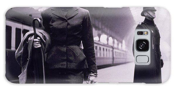 Female Galaxy Case - Vintage Fashion Elegant Lady by Mindy Sommers