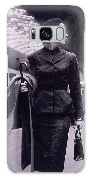 Train Galaxy S8 Case - Vintage Fashion Elegant Lady by Mindy Sommers