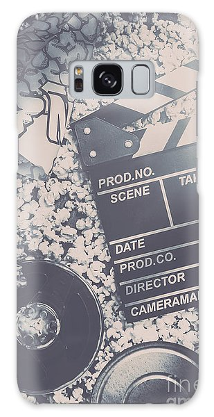 Industry Galaxy Case - Vintage Film Production by Jorgo Photography - Wall Art Gallery