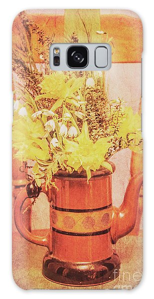 Decorative Galaxy Case - Vintage Fine Art Still Life With Daffodils by Jorgo Photography - Wall Art Gallery