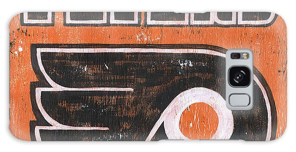 Indoors Galaxy Case - Vintage Flyers Sign by Debbie DeWitt