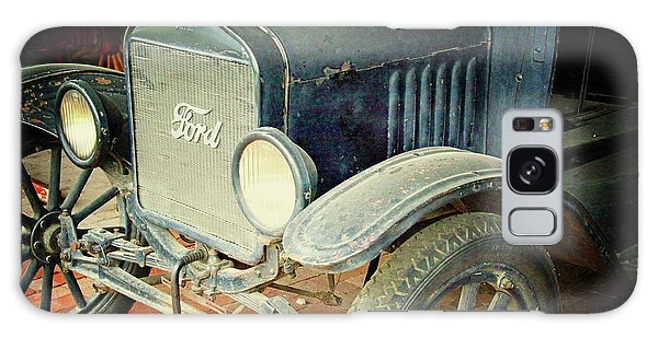 Vintage Ford Galaxy Case by Inspirational Photo Creations Audrey Woods