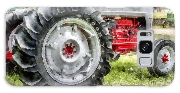 John Deere Galaxy Case - Vintage Ford Tractor Watercolor by Edward Fielding