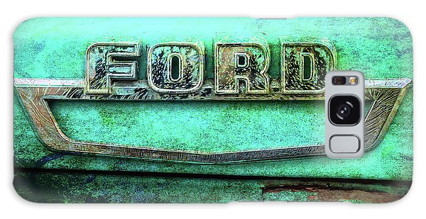 Vintage Ford Truck Logo  Galaxy Case by Terry DeLuco