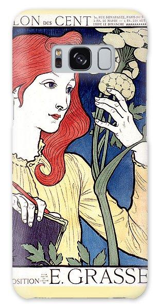 Vintage French Advertising Art Nouveau Salon Des Cent Galaxy Case