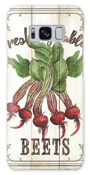 Galaxy Case - Vintage Fresh Vegetables 1 by Debbie DeWitt