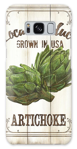 Vintage Fresh Vegetables 2 Galaxy Case by Debbie DeWitt