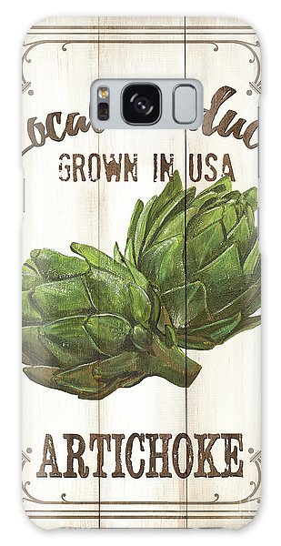 Galaxy Case - Vintage Fresh Vegetables 2 by Debbie DeWitt
