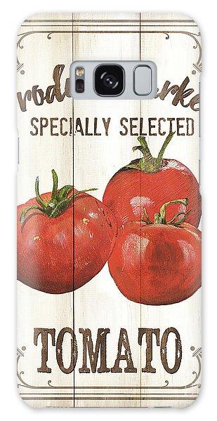 Galaxy Case - Vintage Fresh Vegetables 4 by Debbie DeWitt