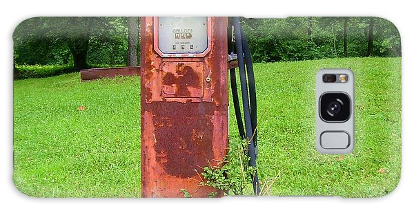 Vintage Gas Pump Galaxy Case