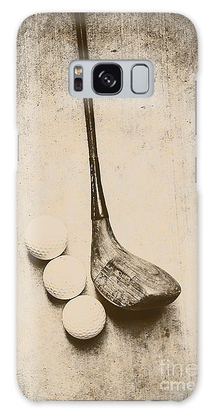 Golf Galaxy Case - Vintage Golf Artwork by Jorgo Photography - Wall Art Gallery