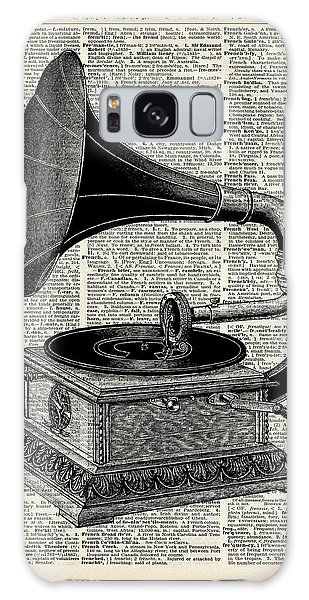 Vintage Gramophone Galaxy Case by Jacob Kuch