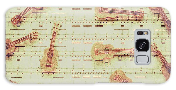 Rock Music Galaxy Case - Vintage Guitar Music by Jorgo Photography - Wall Art Gallery