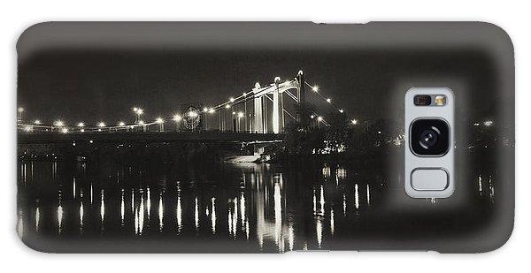Vintage Hennepin Bridge Galaxy Case