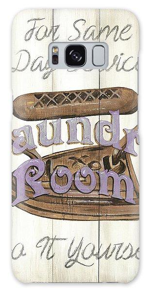Galaxy Case - Vintage Laundry Room 1 by Debbie DeWitt