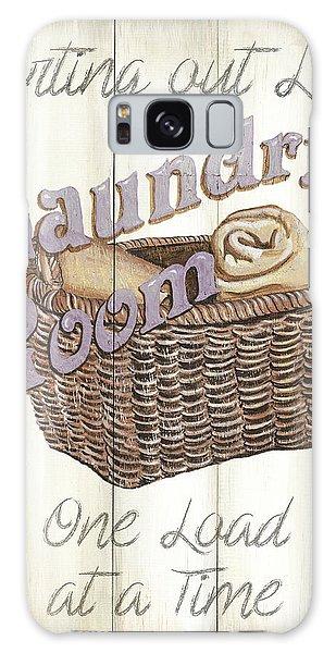 Galaxy Case - Vintage Laundry Room 2 by Debbie DeWitt