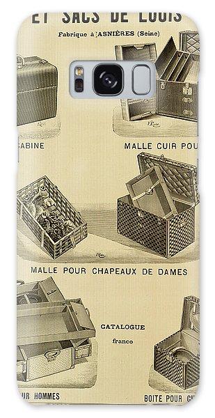 Vintage Louis Vuitton Advertisement - 1898 Galaxy Case